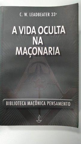 super coleção - maçonaria 5 livros - imperdível  - Foto 2