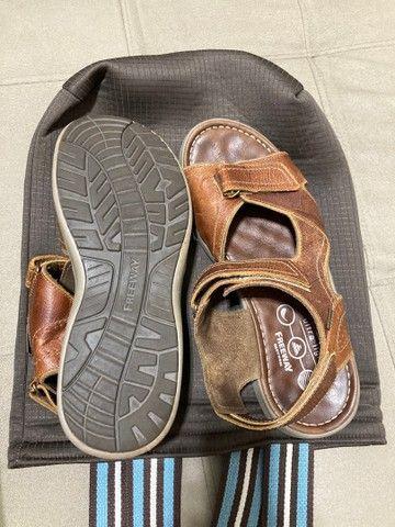 Sandália masculina Freeway  - Foto 2