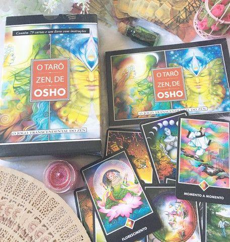 Tarot Zen Osho Completo Novo Lacrado Caruaru PE - Foto 3