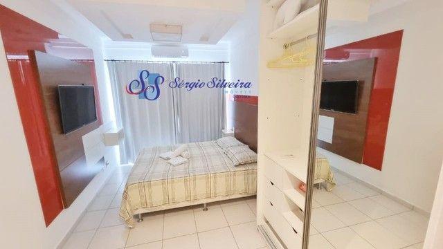 Pé na areia Apartamento 3 quartos no Porto das dunas Beach Living térreo mobiliado  - Foto 3