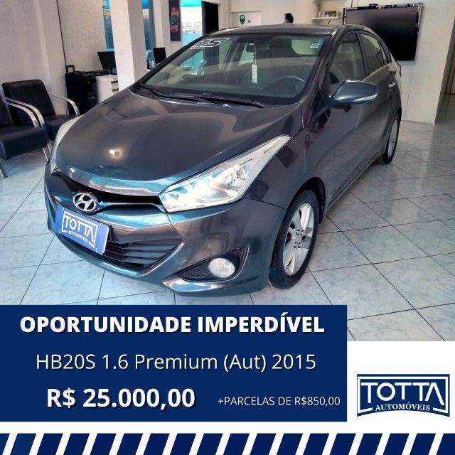 HB20S 1.6 Premium (Aut) 2015