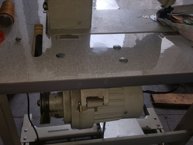 máquina reta de lançadeira grande - Foto 2