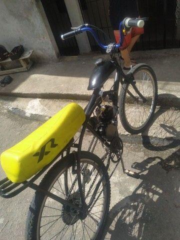 Bicicleta motorizada80cc - Foto 3