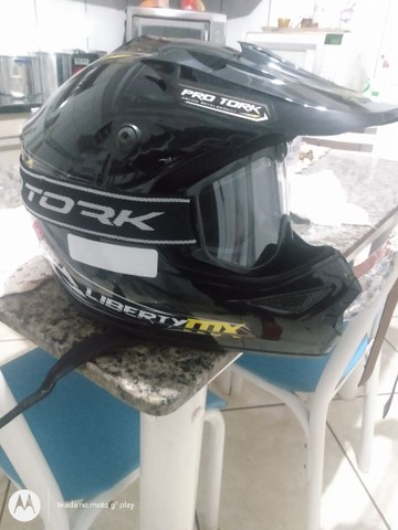Capacete Motocross - Foto 3