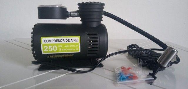 Mini compressor de ar portátil veicular - Foto 4