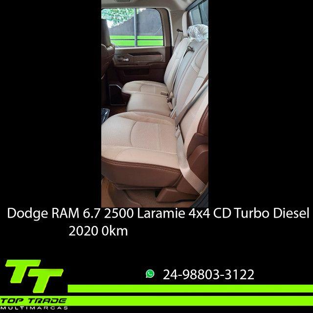 Dodge RAM 2500 Laramie 6.7 TDI Cd 4x4 Diesel 2020 0km - Foto 6