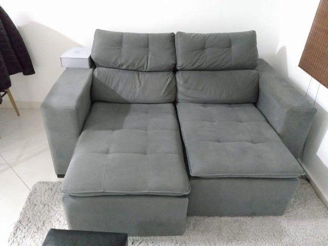 Sofa 2 lugares e cama de casal Etna - Foto 5