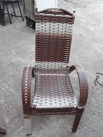 Cadeira Sofia de área e varandas  - Foto 4