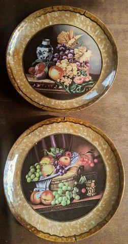 Pratos de porcelana pintado a mão - Foto 3