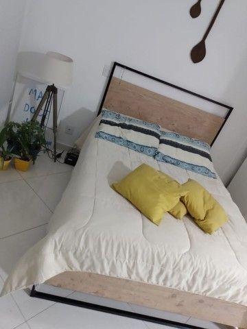 Sofa 2 lugares e cama de casal Etna - Foto 2