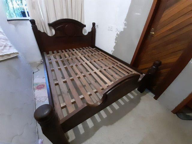 Cama king size de Madeira  - Foto 3