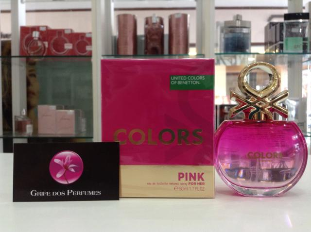 Perfume Colors Pink for her edt 50ml united dreams benetton