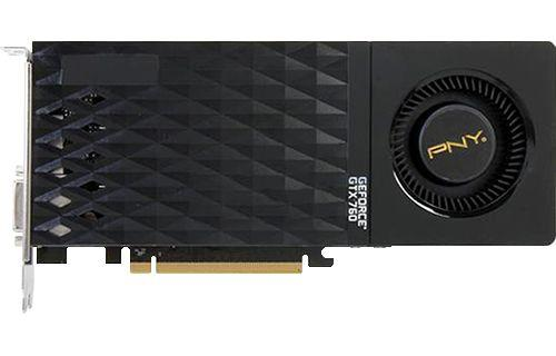 Placa de Vídeo GeForce GTX760 2gb 256bits PNY