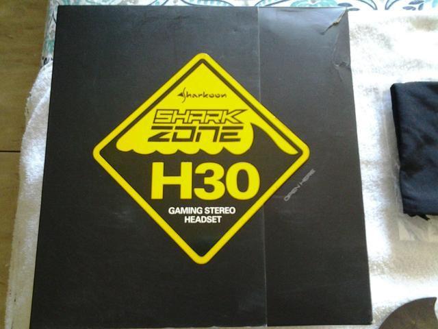 Headset shark zone h30 sharkoon