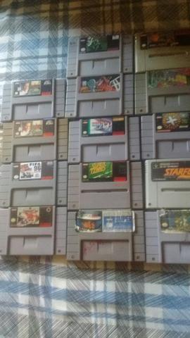 14 jogos super Nintendo