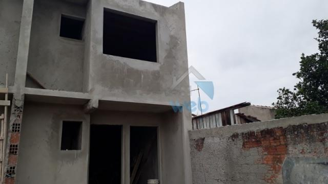 Oportunidade de compra! sobrado, 02 quartos, aproximadamente 77 m², em construção na regiã