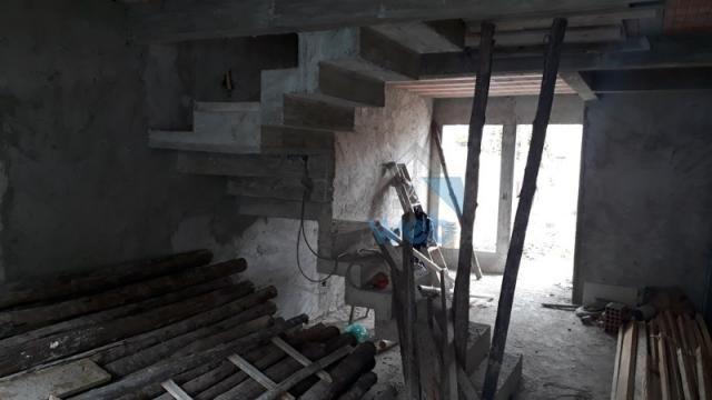 Oportunidade de compra! sobrado, 02 quartos, aproximadamente 77 m², em construção na regiã - Foto 8