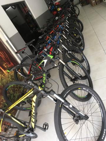 Bicicleta aro 29 27 marchas freio hidraulico - Foto 5