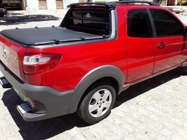 Fiat Strada Working 1.4 vermelha Apenas Venda - Foto 5