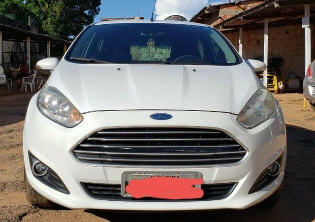 '' Lindo! Ford Fiesta 1.5 Flex 2014/2015, completo. Muito conservado, todo original '' - Foto 4