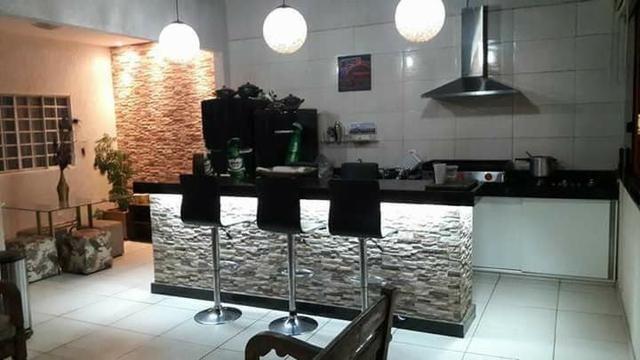 Setor Oeste QD 09, Sobrado 6qts (2 suites), piscina churrasqueira lote 275m² R$ 595.000 - Foto 6