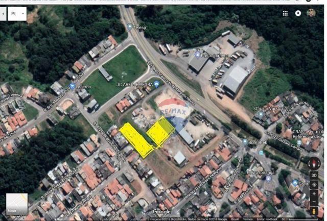 Terreno para alugar, 1700 m² por r$ 1.700/mês - jardim santa gertrudes - jundiaí/sp