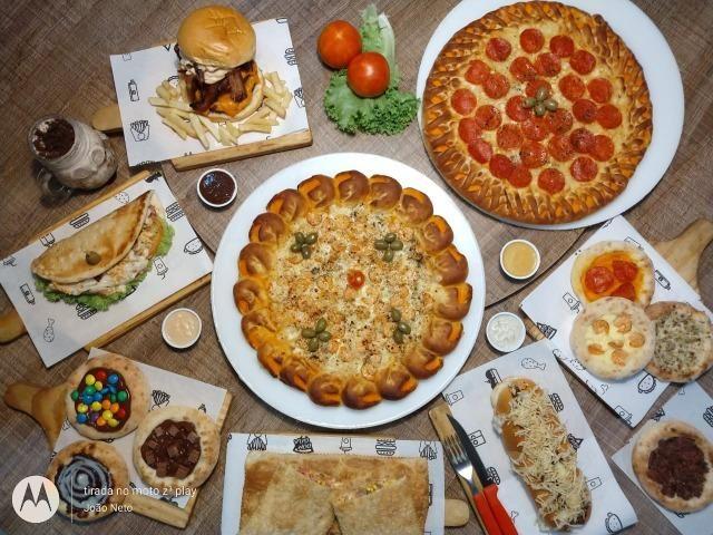 Pizzaria e hamburgueria temática com estrutura e cozinha impecável - Foto 11