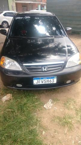 Honda Civic ex 1.7 16 v troco por Burgman 125 ano 2013 com volta do comprador - Foto 6