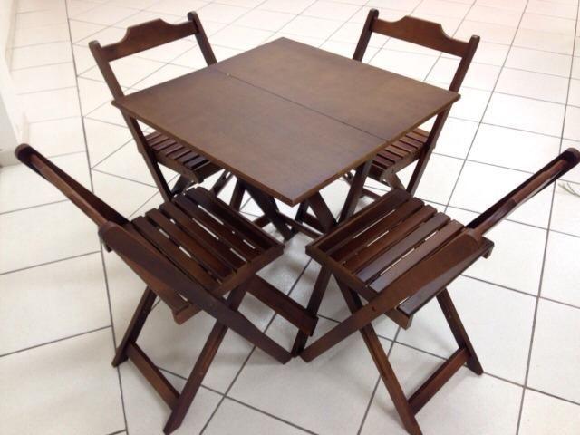 Mesas e cadeiras dobraveis - estabelecimentos comerciais e residencias - Foto 4