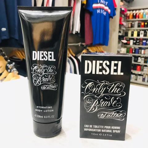 Kit Creme + Perfume Diesel Only The Brave Tattoo 100ml