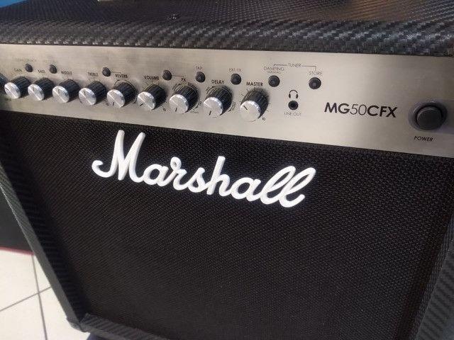Amplificador p/ guitarra Marshall MG 50cfx (Mixer Instrumentos Musicais) - Foto 3