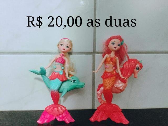 Barbies e outras (preços nas fotos) - Foto 6