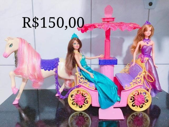 Barbies e outras (preços nas fotos) - Foto 5