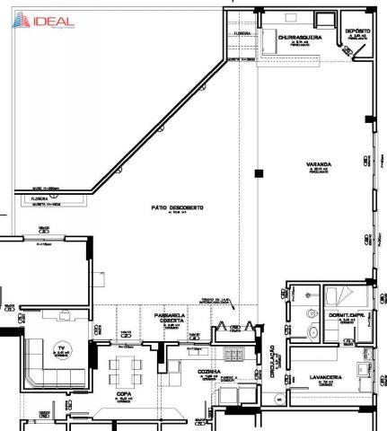 Apartamento com 3 dormitórios para alugar, 380 m² por R$ 3.500,00/mês - Jardim Novo Horizo - Foto 18