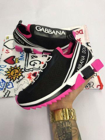 Tenis Dolce & Gabbana Feminino - Envio Imediato