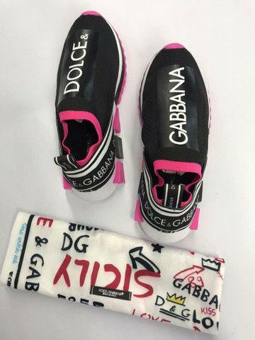 Tenis Dolce & Gabbana Feminino - Envio Imediato - Foto 4