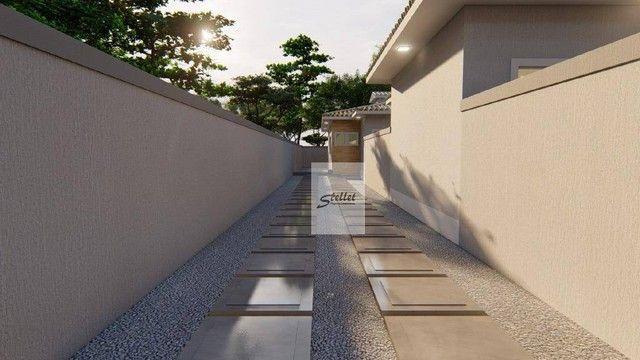 Excelente casa linear com 3 dormitórios à venda, 70 m² por R$ 310.000 - Enseada das Gaivot - Foto 6