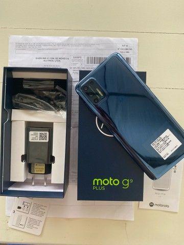 Vendo Moto G9 Plus 128GB- NUNCA USADO- Lacrado- Nota Fiscal- Garantia motorola- Ji parana  - Foto 6