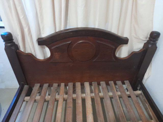 Cama king size de Madeira  - Foto 2