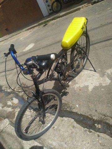 Bicicleta motorizada80cc - Foto 5