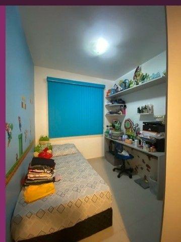 Ponta Negra Condomínio morada dos Pássaros Duplex 3 Quartos - Foto 19