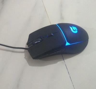 mouse gamer fortek g 7200 dpi 4 cores (seminovo) - Foto 6