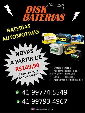 Baterias a partir de R$ 149,90