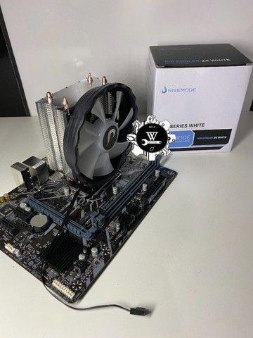 Air Cooler Processador Rise Mode Z4 120mm AMD Intel - Foto 3