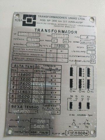 Transformador de 500 kva união  - Foto 3
