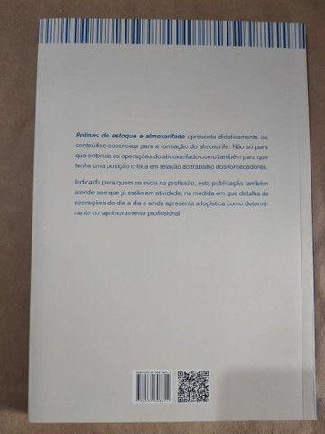 Livro - Rotinas De Estoque E Almoxarifado  - Foto 3