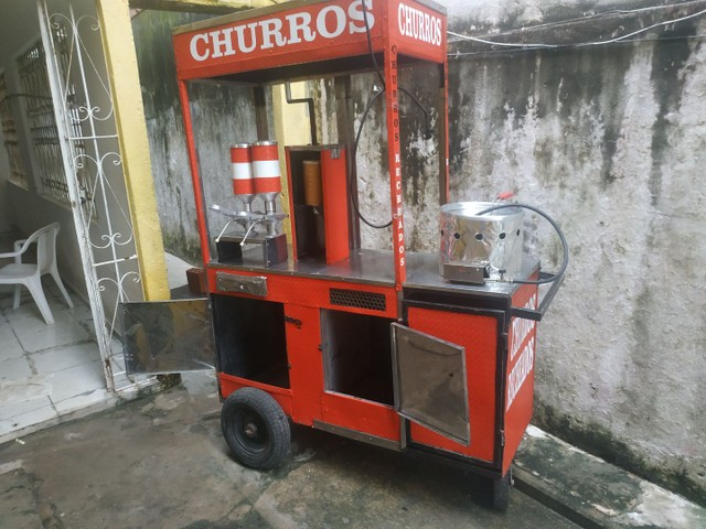 CARROCINHA DE CHURROS - Foto 4