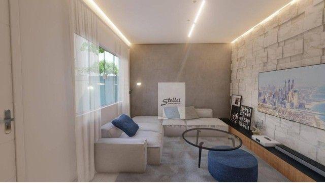 Excelente casa linear com 3 dormitórios à venda, 70 m² por R$ 310.000 - Enseada das Gaivot - Foto 15