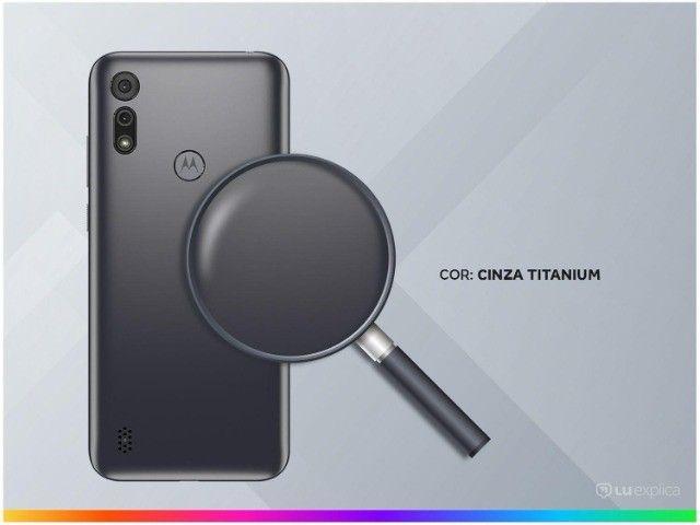 Smartphone Motorola Moto E6i 32GB Cinza Titanium - 4g 2gb ram - Na Caixa - Foto 2