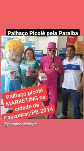 Palhaço Picolé serviços de Locutor porta de lojas, empresas... - Foto 4